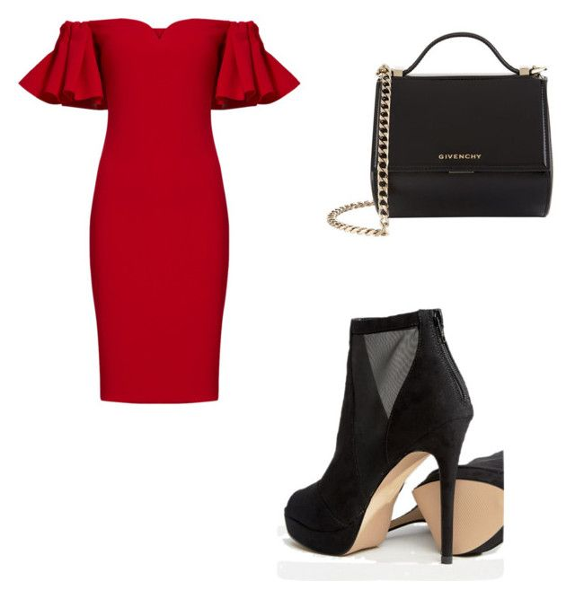 """""""Untitled #61"""" by anais-maria on Polyvore featuring Badgley Mischka, ALDO and Givenchy"""