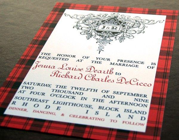 Wedding Invites Scotland: 62 Best Images About Tartan Wedding Inspirations On