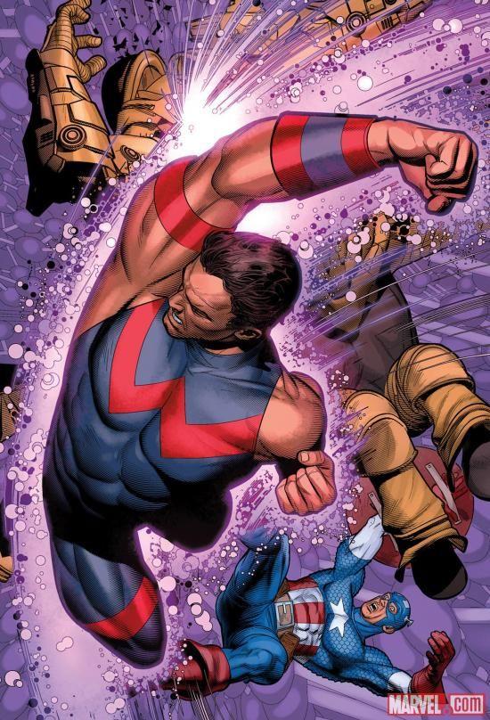 Wonder Man by Brandon Peterson