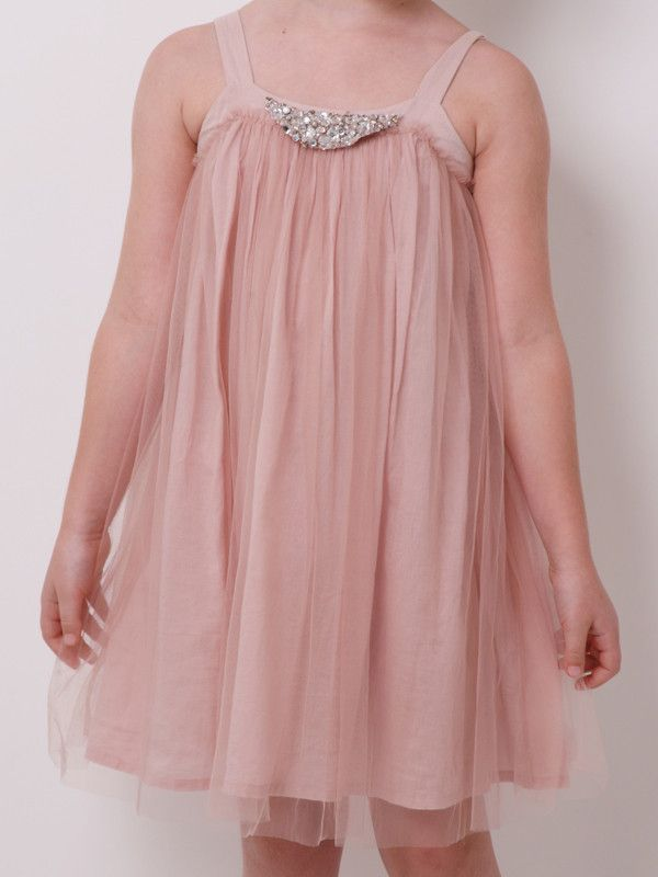 Twilight Party Dress - Rosewater  #partydress #kidsparties #childrensparties #girlspartydresses #enchantedparty.com #partyideas #vintageparty