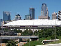 Hubert H. Humphrey Metrodome - mall of america field. Minneapolis, MN. October 2012 for Vikings vs. Cardinals