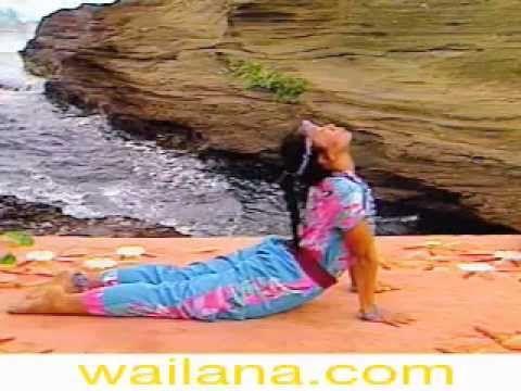 Wai Lana teaches Striking Cobra asana in her Wai Lana Yoga Series