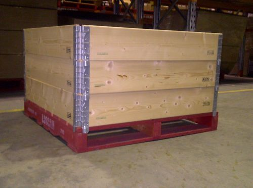 20-pcs-48x40-Pallet-Collars-turn-pallets-into-pallet-boxes-gaylord-boxes