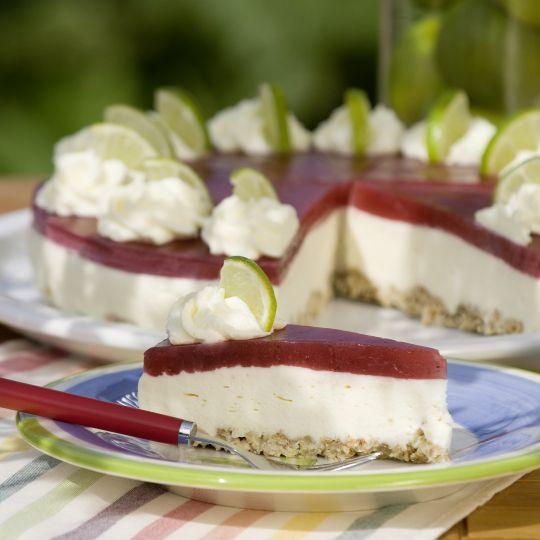 Müsli-Limetten-Torte