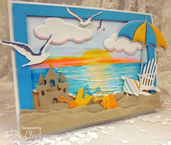 CC Relaxing by Stamperrobin - Cards and Paper Crafts at Splitcoaststampers