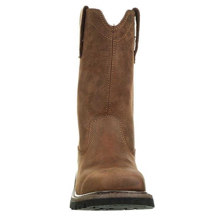 Caterpillar Men's Wellston Medium/Wide Pull On Work Boots (Dark Brown) - 11.5 M