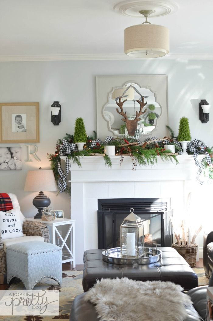 Canadian bloggers home tour red plaid cottage christmas - Canadian home decor stores photos ...