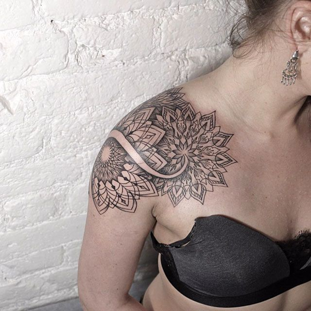 Shoulder Mandala Tattoo                                                                                                                                                      More