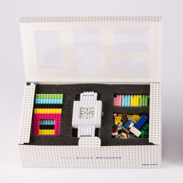 Look what you'll get with your Nanoblock watch. http://tribeatwork.com/en/nanoblock/
