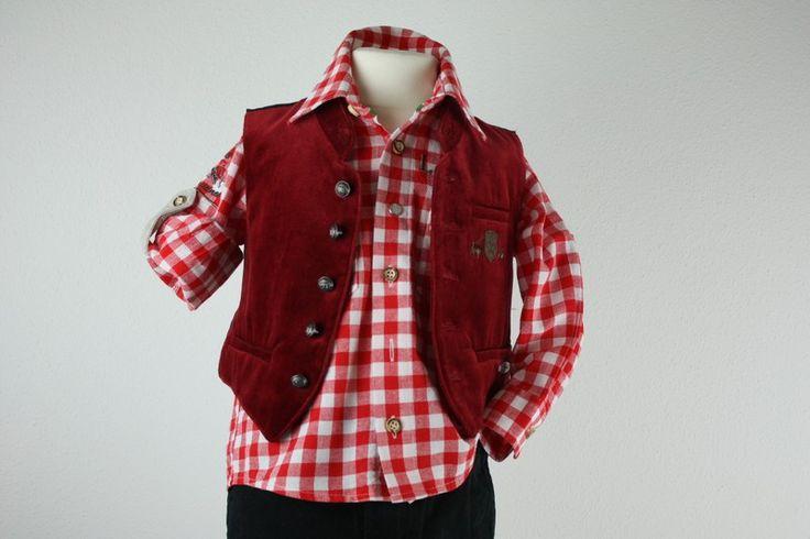 Mein OS Trachten Lausbub Trachtenhemd Hemd Karo rot 86/92 1-2J NP45€ von Isar Trachten! Größe 86 für 16,85 €. Schau´s dir an: http://www.mamikreisel.de/kleidung-fur-jungs/langarm-hemden/38261983-os-trachten-lausbub-trachtenhemd-hemd-karo-rot-8692-1-2j-np45eu.