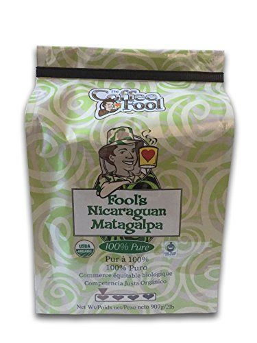 Coffee Fools Organic Fair Trade Nicaraguan Matagalpa 2 Pound Whole Bean >>> Check this awesome product by going to the link at the image. (This is an affiliate link and I receive a commission for the sales)
