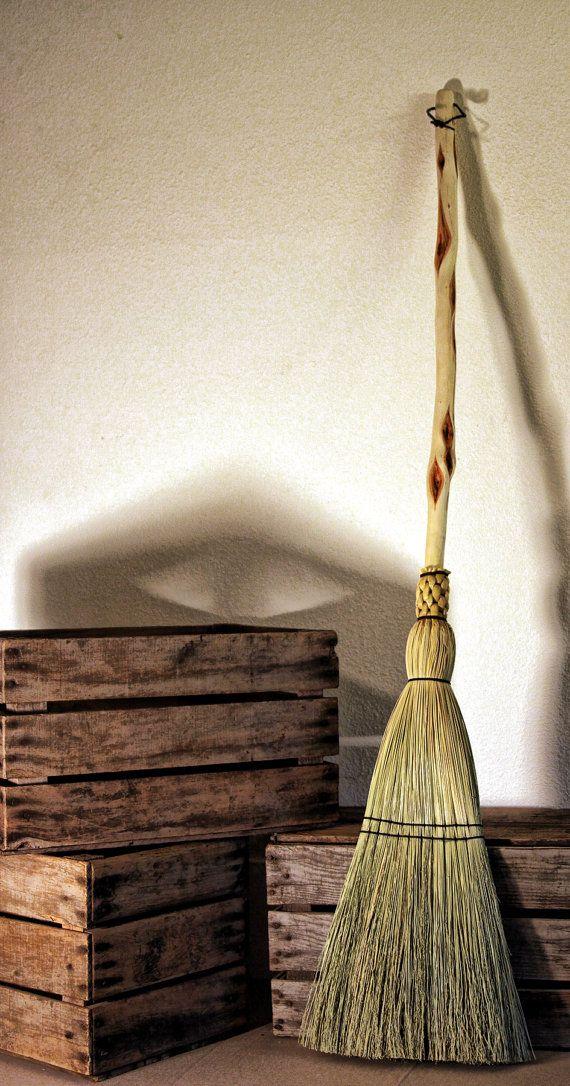 Diamond Willow Floor Broom Functional Art By