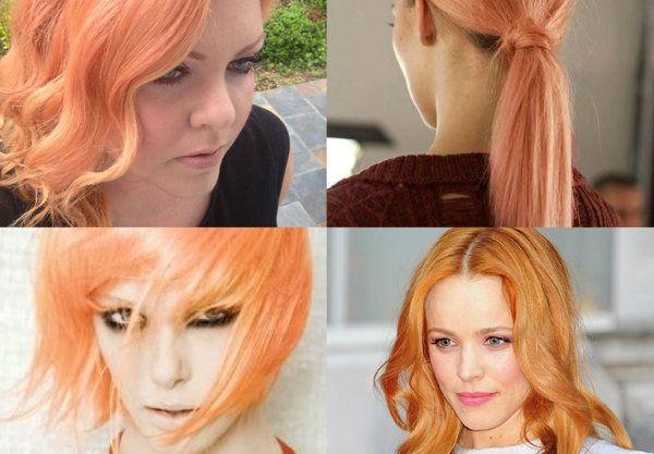 Hair trend - Hair dye swatches