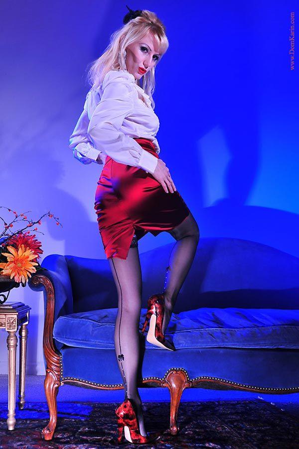 #Mistress Karin #teasing