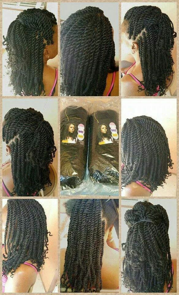 Kinky Twists for summer fun