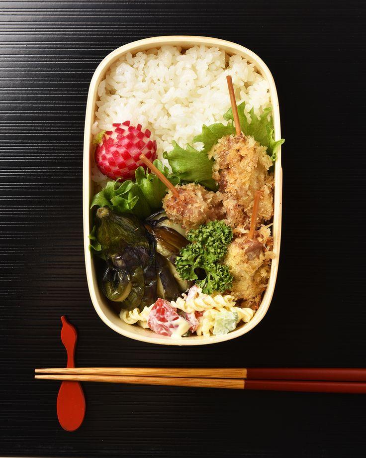 串カツ弁当 / Kushikatsu Bento お弁当を作ったら #edit_jp で投稿してね!