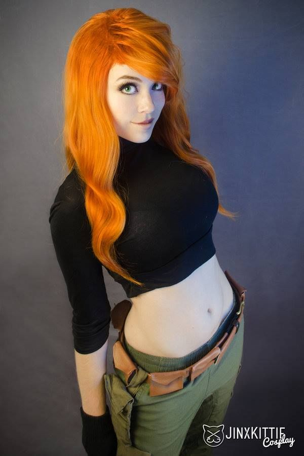 Awesome Kim Possible Cosplay❤ credit: JinxKittie Cosplay  #cosplay #kimpossible