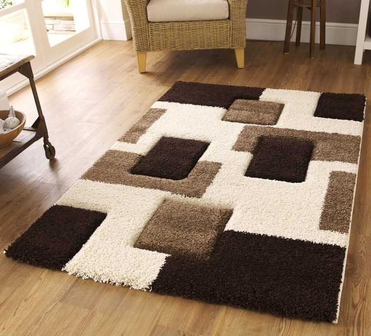 Fashion Carving 7646 Ivory / Brown Rugs (80 X 150cm)