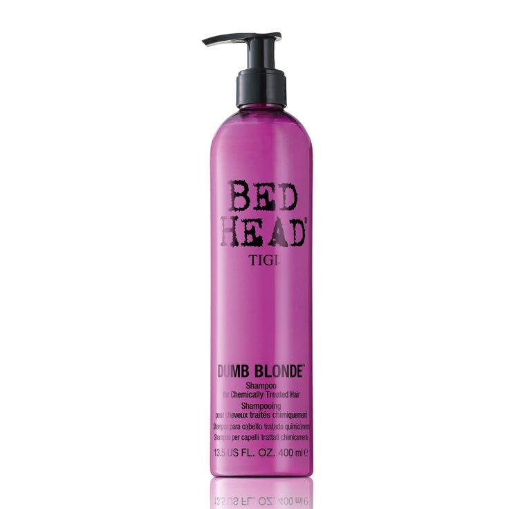 Tigi Bed Head Dumb Blonde Shampoo for Chemically Treated Hair 400ml.
