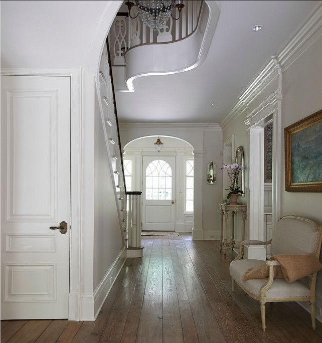 New Home Interior Design Traditional Hallway: 109 Best Images About GRAND ENTRY FOYERS & STAIRCASES On