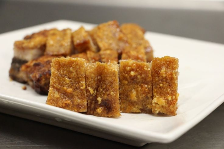 Crispy Roasted Pork Belly (Siu Yuk) 脆皮燒肉 | Oriental Cuisine ...