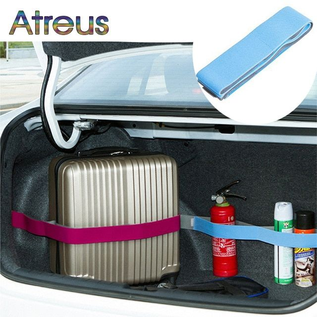Atreus Elastic Car Trunk Organizer Stowing Fixed Strap For Buick