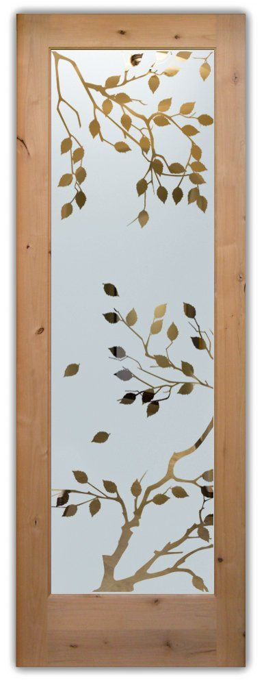 glass front doors etched glass asian decor sans soucie Cherry Tree
