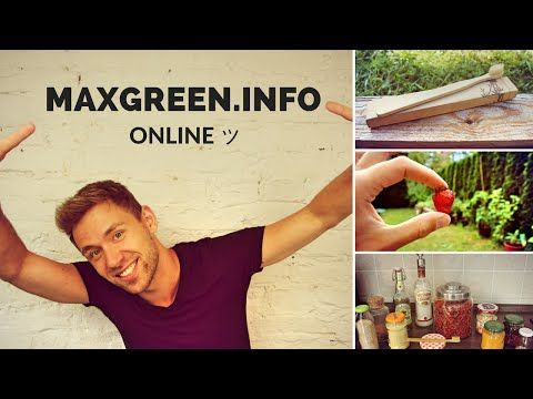 ➤ www.MaxGreen.Info online ツ + BAMBUS ZAHNBÜRSTEN & Reminder #BockAufNeues | Max GREEN - YouTube