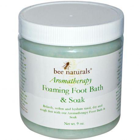 Bee Naturals, Aromatherapy Foaming Foot bath & soak - 9oz