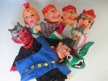 Kasperletheater Kasperltheater Puppentheater 70er