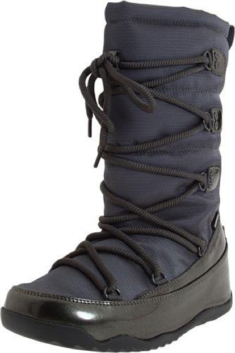 FitFlop Women's Blizz Boot  in Gunmetal