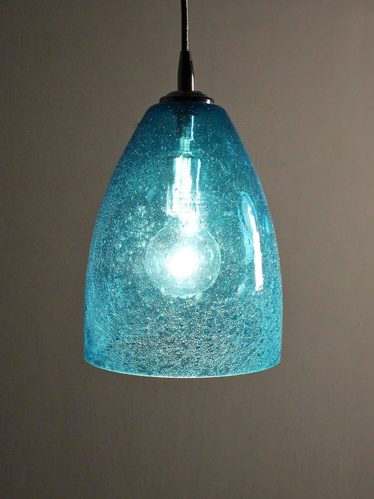 seeded glass pendant dome home shop gift sale aqua seeded glass. Black Bedroom Furniture Sets. Home Design Ideas