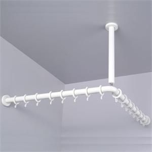 25 Best Ideas About Shower Curtain Rods On Pinterest