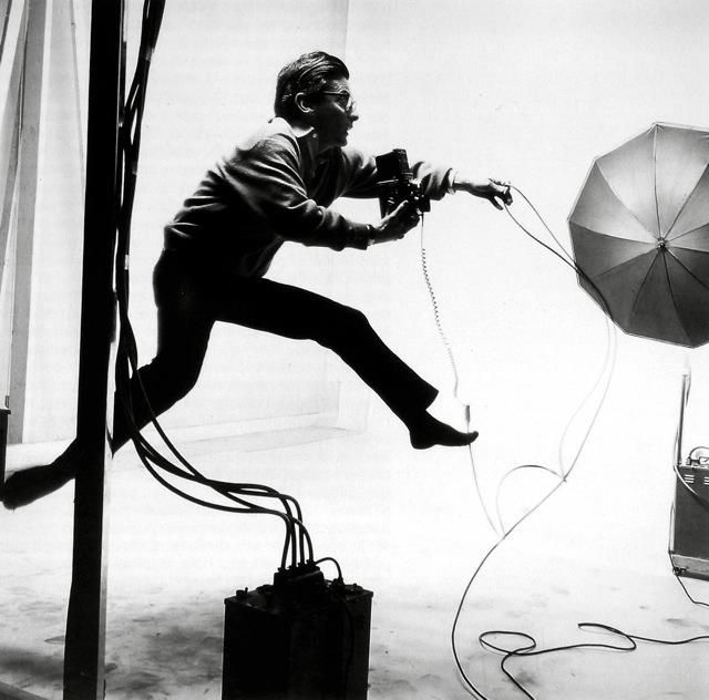 Richard Avedon by Jacques-Henri Lartigue, 1966