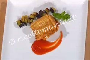 Ricetta Parmigiana di pesce bandiera - la notte degli chef
