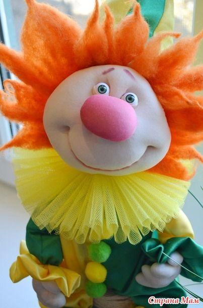 Как сделать из колготок клоуна comment фото 617