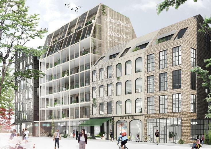 Kjellander + Sjöberg Take First Place with Rosendal Apartments