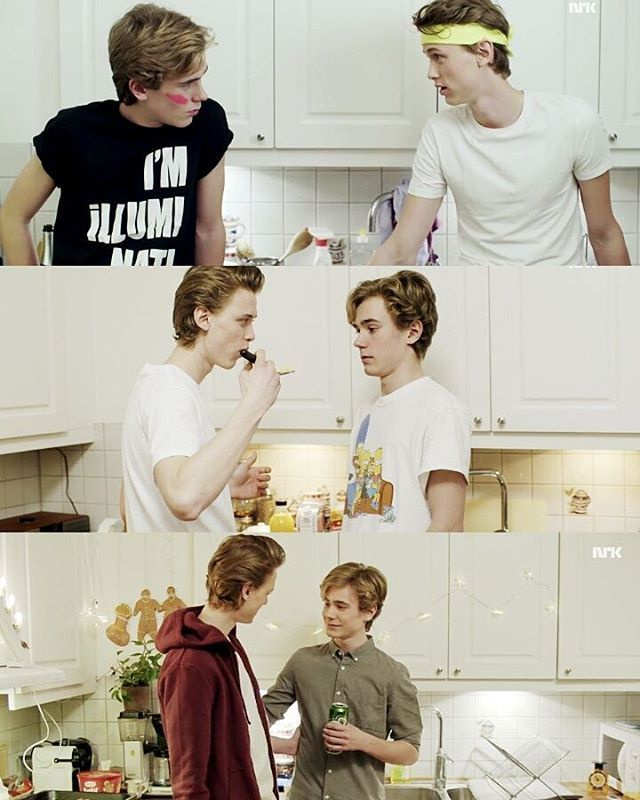 Even & Isak // SKAM @starrybeauty