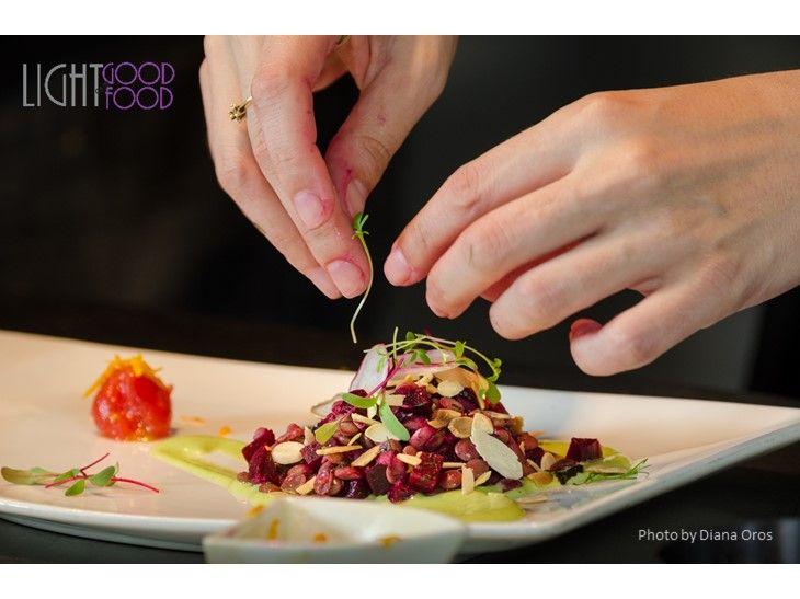 salata linte, sfecla, mousse de busuioc 3