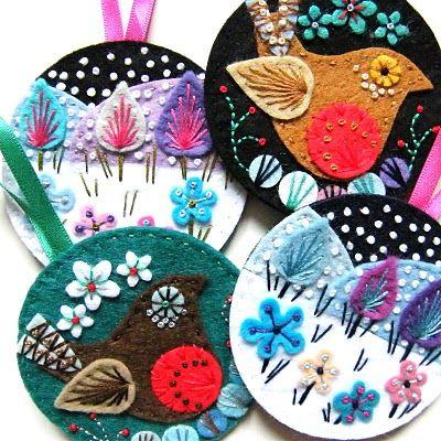 Hinterland Mama: Embroidery by Jane Smallcombe