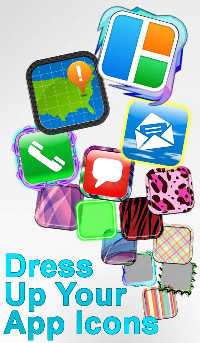 App Icons Frames and Skins ClipBlueLLCEntertainment