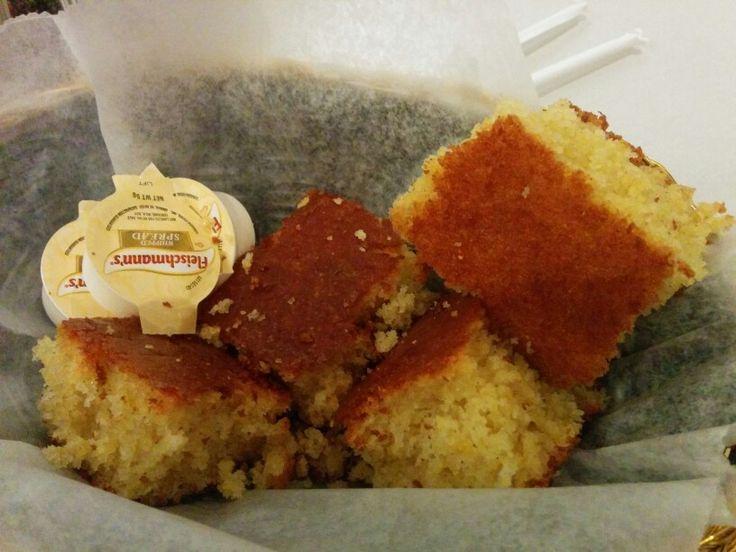 Sylvia's Restaurant, Corn bread - A: 3 B: 3.5