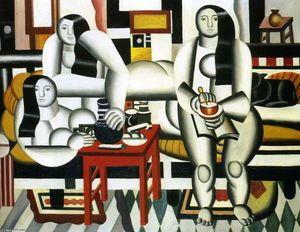 le le petit déjeuner - (Fernand Leger)
