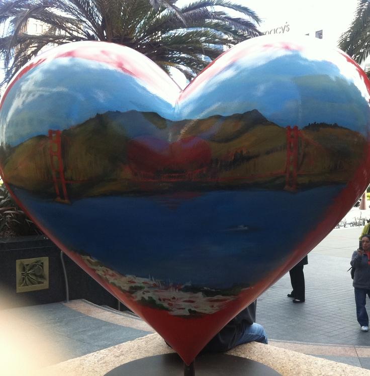 """""""I left my heart in San Francisco...""""My Heart, San Francisco"""