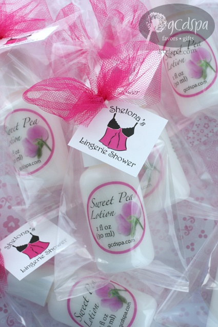#lingerie #bridal shower favors GCDSpa Stuff