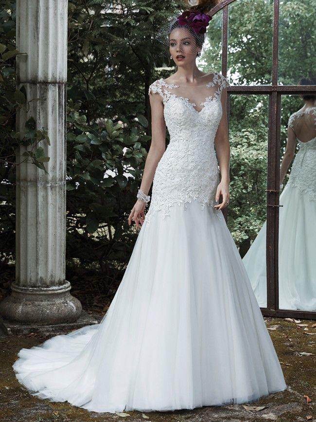Maggie Sottero Evianna 5MS673 - [Maggie Sottero Evianna] - Maggie Sottero Utah - Utah Bridal Shop - Draper Wedding Gowns - Salt Lake Wedding Dresses