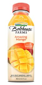 Absolutely the BEST of the Bolthouse Farms Juices. (of course I only use them in a pinch when I haven't had time to grind my spinach and peach cinnamon smoothies)  My Favorite! Bolthouse Farms - Mango Lemonade #carrotfarmers #gotcoupon