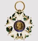 Aigle d'or, 1er type (© Musée national de la Légion d'honneur)
