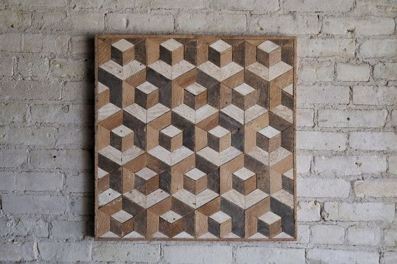 25 beste idee n over geometrisch patroon ontwerp op for Reclaimed wood dc