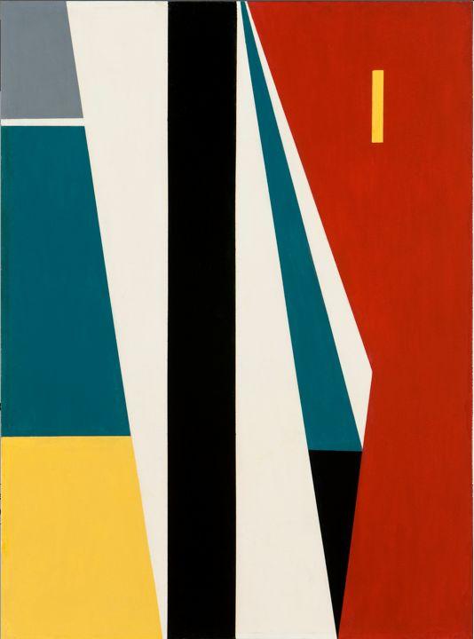 Antonio Llorens - White, yellow, green, red 1954 - Facebook.